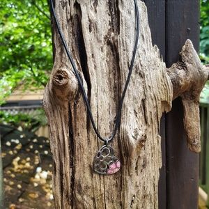Heart & Flowers Necklace
